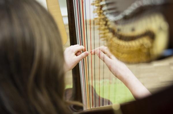 Harfe Slider